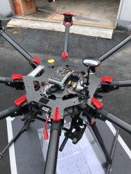 dji s1000 Spreading Wings Drone Image