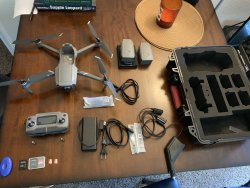 DJI Mavic 2 zoom, extra battery, hardcase, replacement accident insurance Image