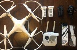 DJI Phantom 3 4K Quadcopter Drone with many extras Image