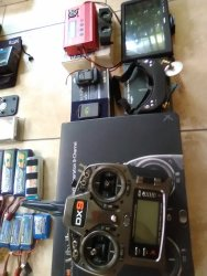 2 Quadcopters custom made DJI 550 and whirlwind  550.with lots of extras Image #2