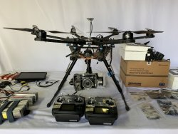 DJI S800 with controllers and more! Image