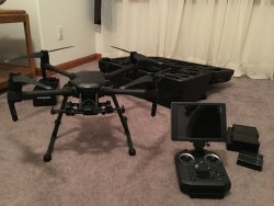 Like New DJI Matrice 210 dual gimble Setup with DJI Zenmuse X5S Camera Image