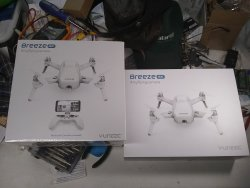 2 Yuneeq Breeze drones New in box free shipping Image