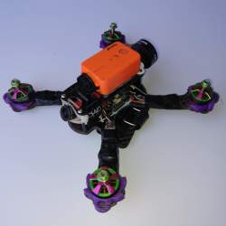 "Indestructible Quads ""Indestructible Goby 180 v2"" with Turnigy i6S and Formula One 220 X frame and Runcam 2 (only motors broken) Image #3"