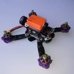 "Indestructible Quads ""Indestructible Goby 180 v2"" with Turnigy i6S and Formula One 220 X frame and Runcam 2 (only motors broken) Image"