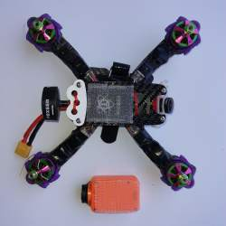 "Indestructible Quads ""Indestructible Goby 180 v2"" with Turnigy i6S and Formula One 220 X frame and Runcam 2 (only motors broken) Image #2"