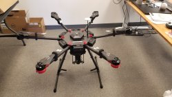 Like new DJI Matrice 600 with extra batteries Image