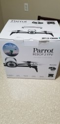 Parrot - Bebop 2 Quadcopter with Skycontroller 2 and Cockpit FPV Glasses - White Image