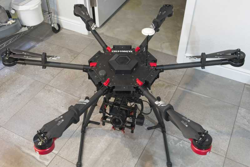 M600 Mapping Drone Image #1