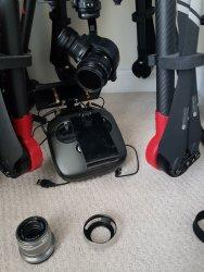 Dji X5 camera + 15mm kit lens + 45mm olympus lens Image #2