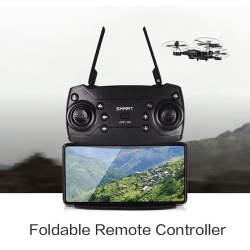 SMART Folding Drone / Quadcopter Wifi FPV HD Camera Headless Mode Foldable Image #2