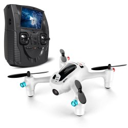 Hubsan H107D+ X4 FPV Plus Drone / Quadcopter w/built-in LCD Screen 720p Camera - Brand New in the Box *FREE SHIPPING* Image