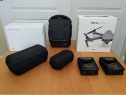 Mavic Pro Fly More Combo Plus hard shell cases and travel safe battery bags, the perfect Xmas present Image