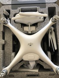 DJI Phantom 4 Drone w/Camera & Controller, Used - Great condition Image