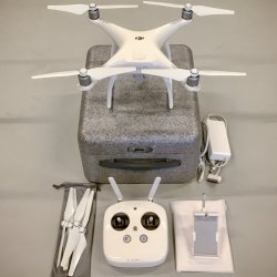 DJI Phantom 4 Drone 4k 12 Megapixel HD Camera w/ Case & Extra Battery Image