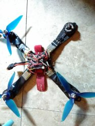 Custom built drones lot Image