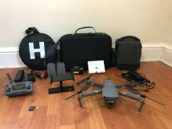 DJI Mavic 2 Pro Drone Ultimate Bundle - 3 Batteries, Case, 128GB SD card, Lens Kit/Signal Boost Image