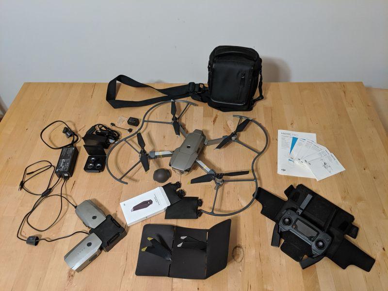 DJI Mavic Pro PLatinum Fly More Combo + Controller, lens accessories, etc... Image #1