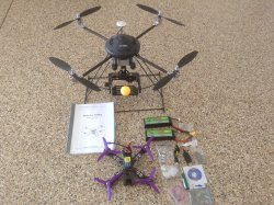 Two drones with batteries for sale real cheap Image